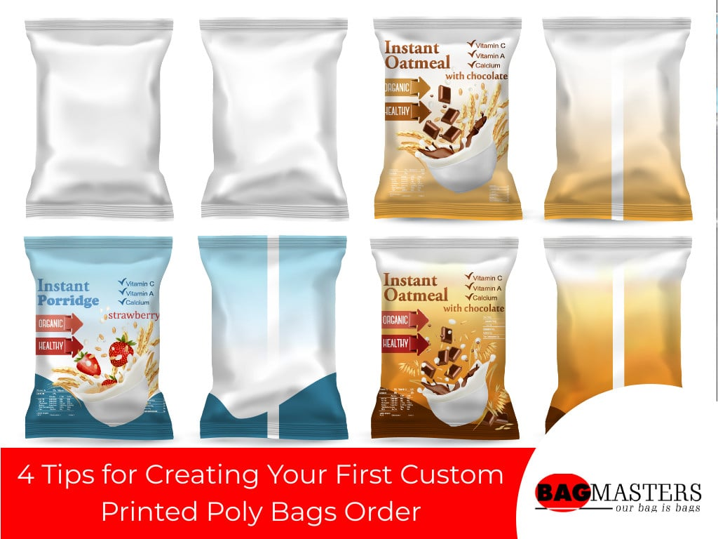 4 Tips for Creating Your First Custom Printed Poly Bags Order 1